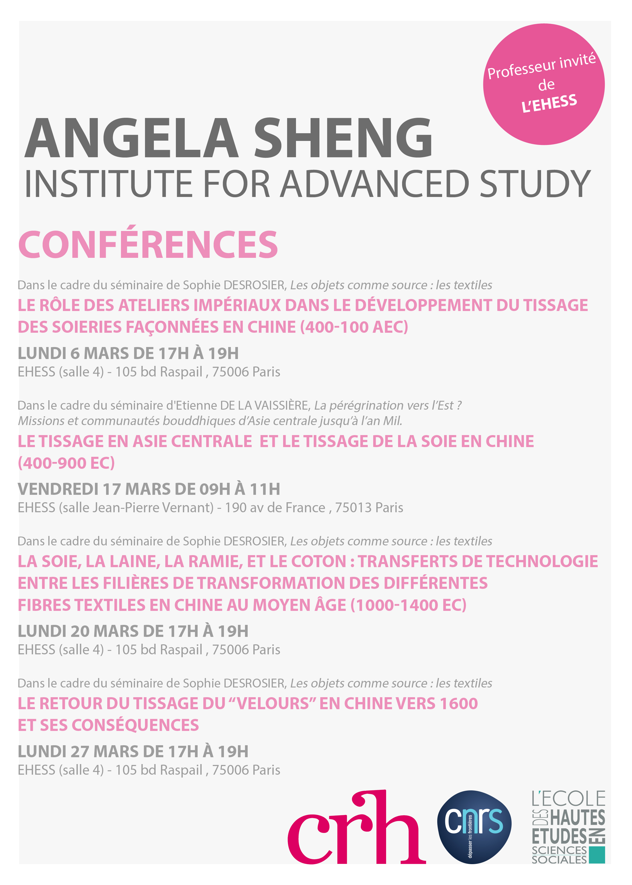 Angela Sheng (McMaster University)