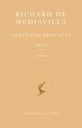 Richard de Mediavilla, Questions disputées, tome VI