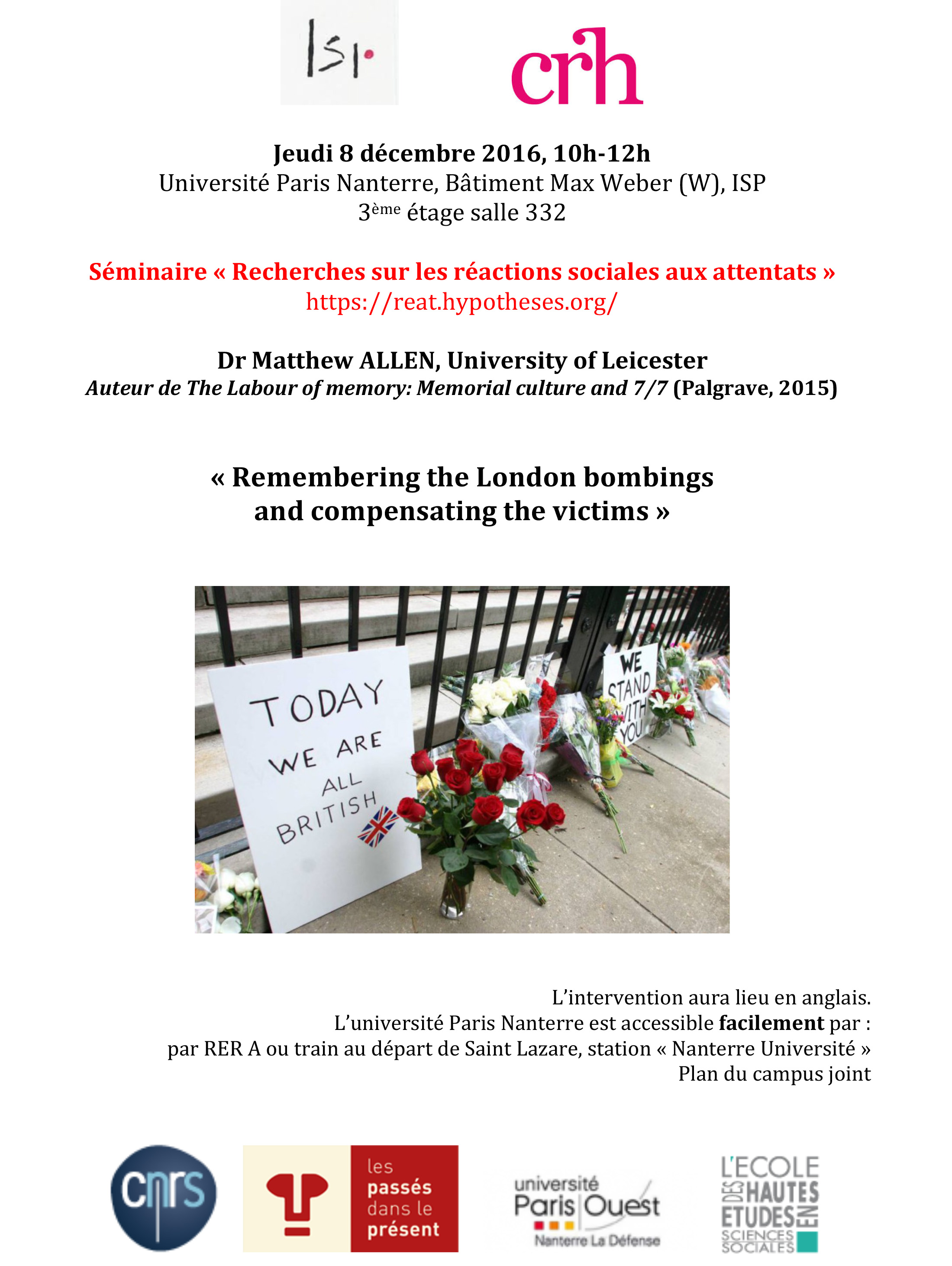 Remembering the London bombings and compensating the victims