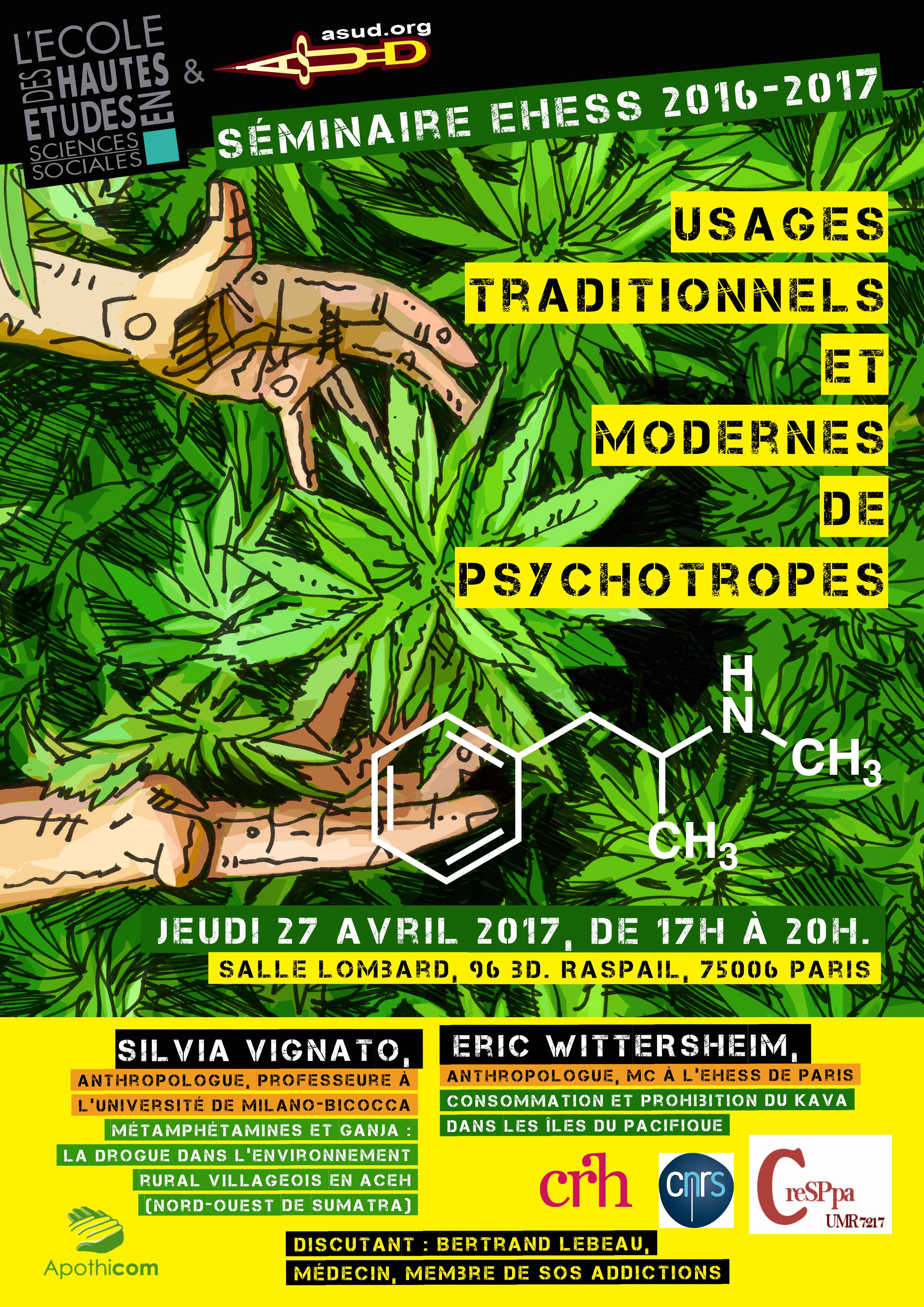 Usages traditionnels et modernes de psychotropes