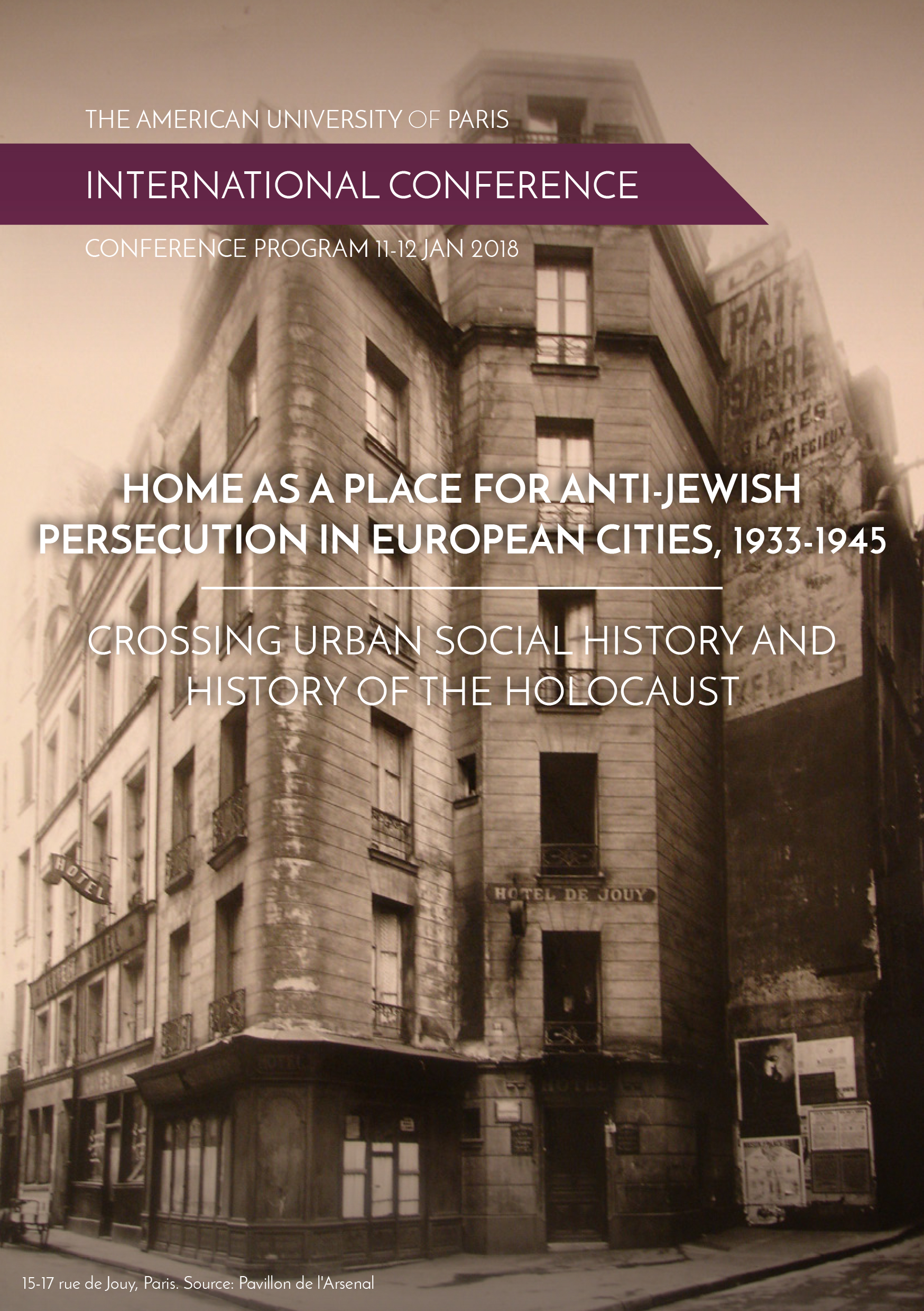 Home as a Place for Anti-Jewish Persecution in European Cities